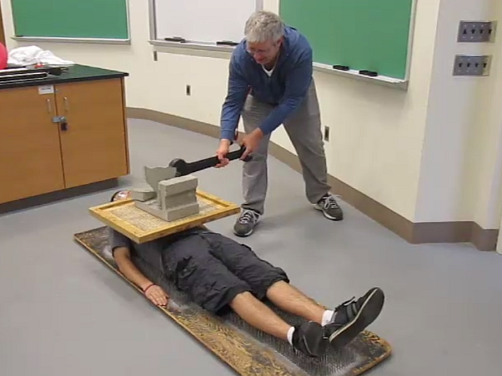 1f2025smash block on bed of nails